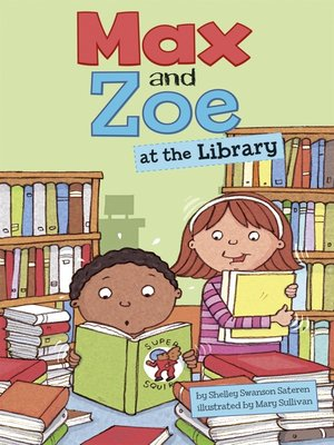 cover image of Max and Zoe at the Library