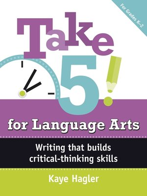 cover image of Take Five! for Language Arts