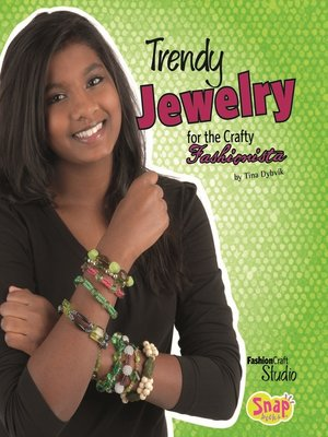 cover image of Trendy Jewelry for the Crafty Fashionista