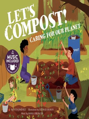 cover image of Let's Compost!