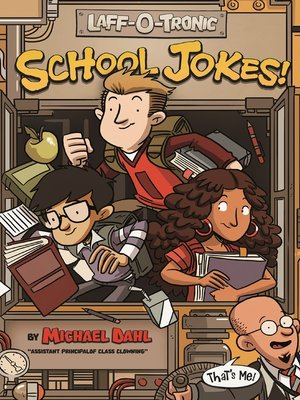 cover image of Laff-O-Tronic School Jokes!