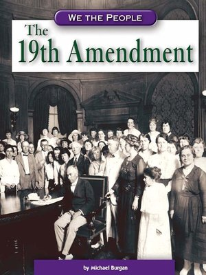 cover image of The 19th Amendment