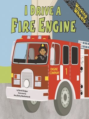 cover image of I Drive a Fire Engine