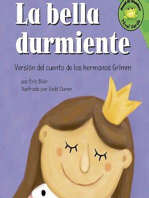 cover image of La bella durmiente
