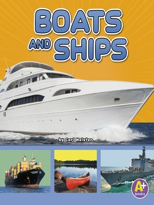 cover image of Boats and Ships
