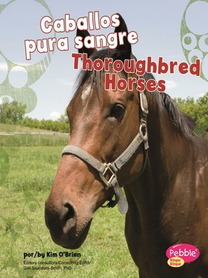 cover image of Caballos pura sangre/Thoroughbred Horses