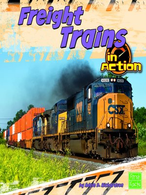 cover image of Freight Trains in Action