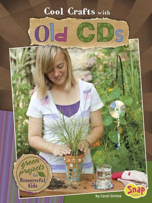 cover image of Cool Crafts with Old CDs