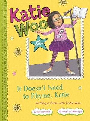 cover image of It Doesn't Need to Rhyme, Katie