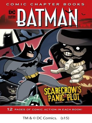 cover image of Scarecrow's Panic Plot
