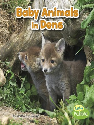 cover image of Baby Animals in Dens