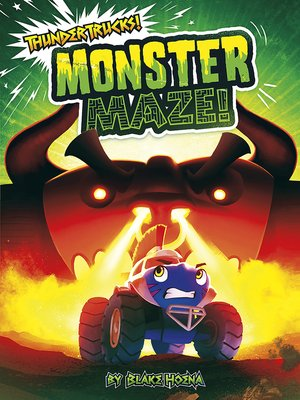 cover image of Monster Maze!