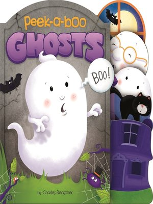 cover image of Peek-a-Boo Ghosts
