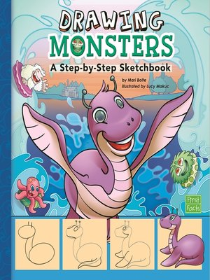 cover image of Drawing Monsters