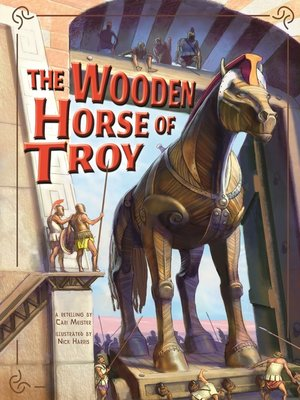 cover image of The Wooden Horse of Troy