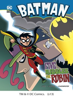 cover image of Five Riddles for Robin