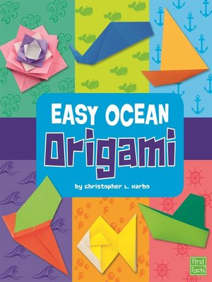 cover image of Easy Ocean Origami