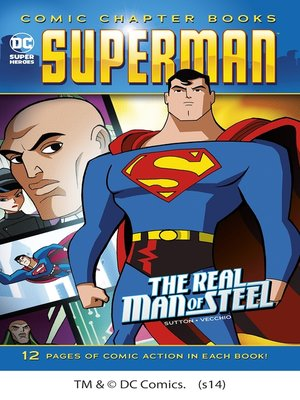 cover image of The Real Man of Steel