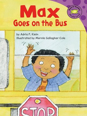 cover image of Max Goes on the Bus