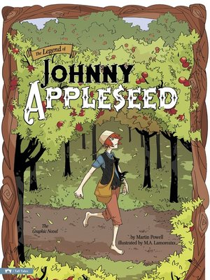 cover image of The Legend of Johnny Appleseed