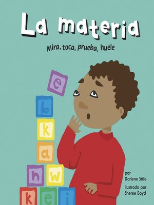 cover image of La materia