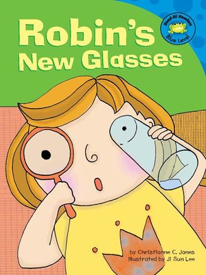 cover image of Robin's New Glasses