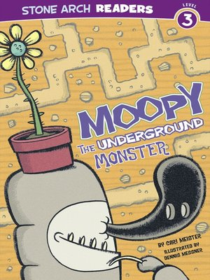 cover image of Moopy the Underground Monster