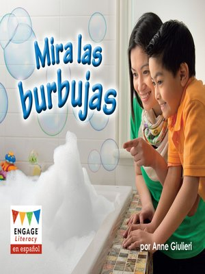 cover image of Mira las burbujas