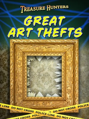 cover image of Great Art Thefts