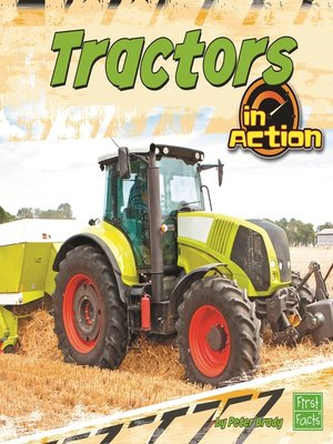 cover image of Tractors in Action