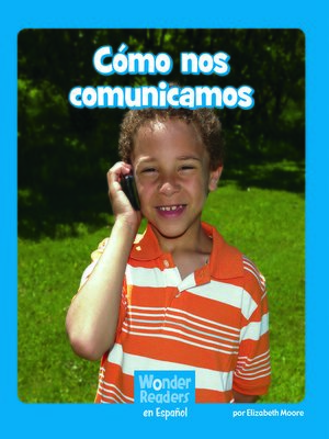 cover image of Cómo nos comunicamos