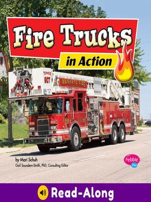 cover image of Fire Trucks in Action