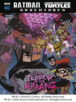 cover image of The Terror of the Kraang