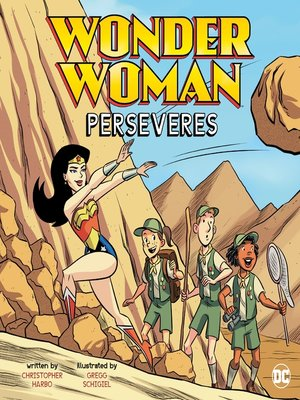 cover image of Wonder Woman Perseveres