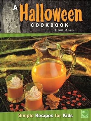 cover image of A Halloween Cookbook