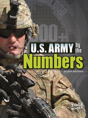 cover image of U.S. Army by the Numbers