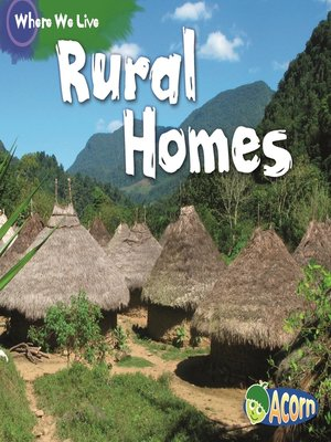 cover image of Rural Homes