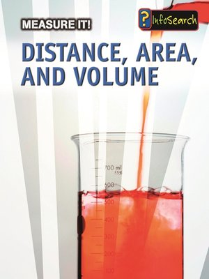 cover image of Distance, Area, and Volume