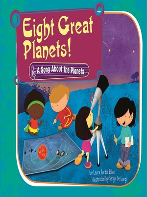 cover image of Eight Great Planets!