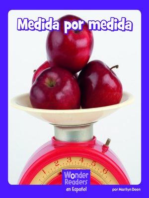 cover image of Medida por medida