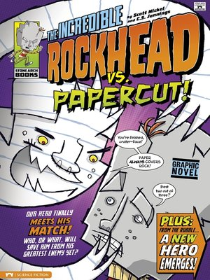 cover image of The Incredible Rockhead vs Papercut!