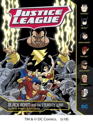 cover image of Black Adam and the Eternity War