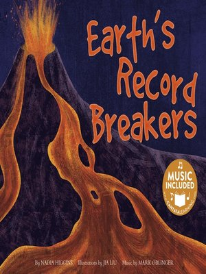 cover image of Earth's Record Breakers