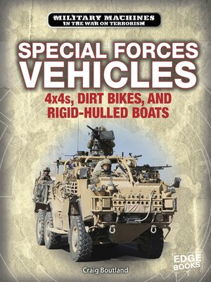 cover image of Special Forces Vehicles