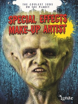 cover image of Special Effects Make-up Artist