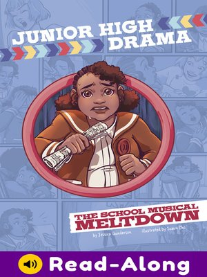 cover image of The School Musical Meltdown