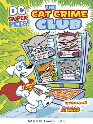 cover image of The Cat Crime Club