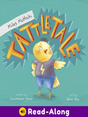 cover image of Miles McHale, Tattletale