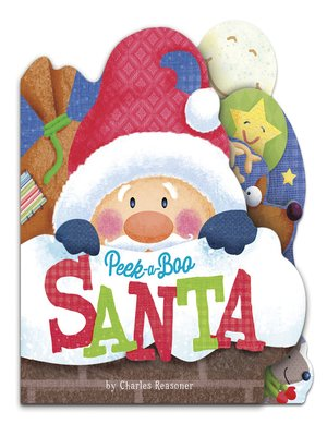 cover image of Peek-a-Boo Santa