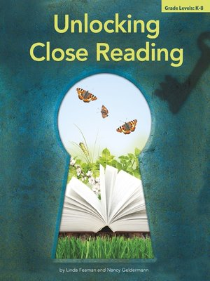 cover image of Unlocking Close Reading